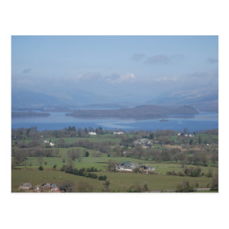 The Bonnie Banks of Loch lomond Postcard