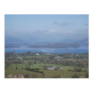The Bonnie Banks of Loch lomond Postcard