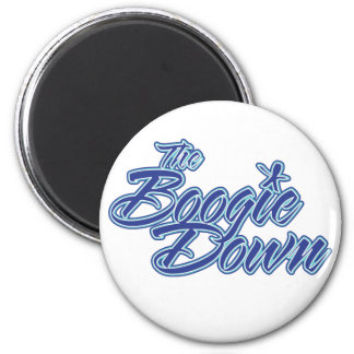 The Boogie Down 6 Cm Round Magnet