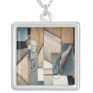The Book, 1913 Silver Plated Necklace