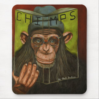 The Book Of Chimps Mouse Pad