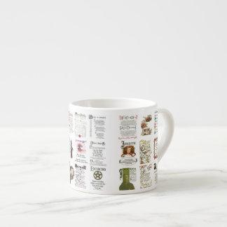 The Book of Shadows SPELLS, POTIONS Espresso Mug