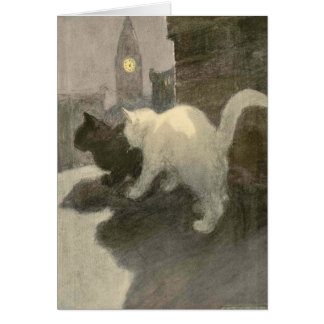 The Book of the Cat: A Night On Greeting Card