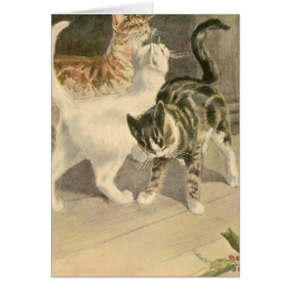 The Book of the Cat: Dot's Beetles Greeting Card