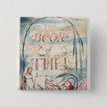 The Book of Thel; Title Page, 1789 15 Cm Square Badge