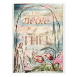 The Book of Thel; Title Page, 1789 Postcard