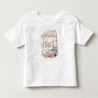 The Book of Thel; Title Page, 1789 Toddler T-Shirt