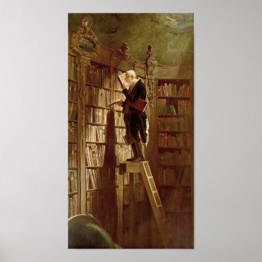 The Bookworm Print