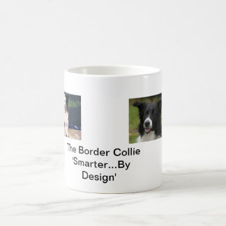 The Border Collie 'Smarter By Design' Coffee Mug