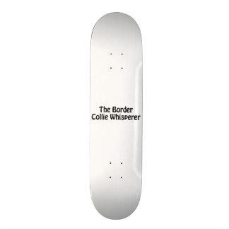 the border collie whisperer 21.6 cm skateboard deck