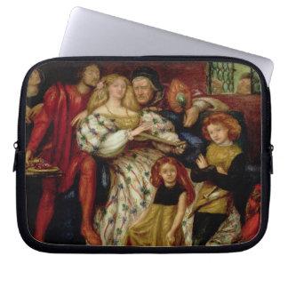 The Borgia Family, 1863 Laptop Sleeve