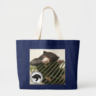 The Bornean Sun Bear Conservation Centre Large Tote Bag