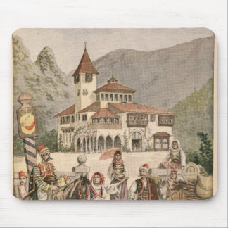 The Bosnian Pavilion at the Universal Exhibition Mouse Mat