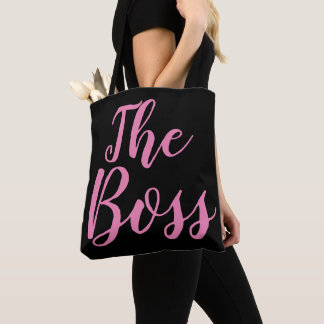 The Boss All-Over-Print Tote Bag