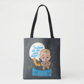 The Boss Baby | Astronauts Tote Bag