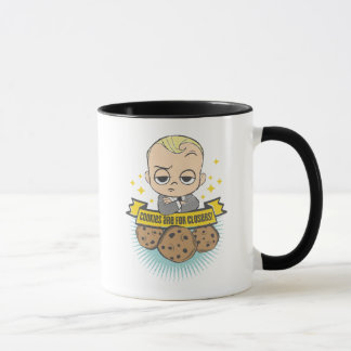 The Boss Baby   Baby & Cookies are for Closers! Mug