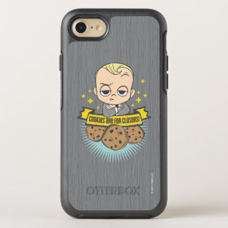 The Boss Baby | Baby & Cookies are for Closers! OtterBox Symmetry iPhone 8/7 Case