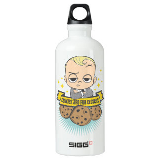 The Boss Baby | Baby & Cookies are for Closers! SIGG Traveller 0.6L Water Bottle