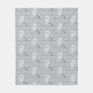 The Boss Baby | Grey Pattern Fleece Blanket