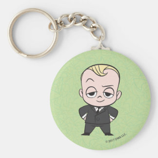 The Boss Baby | I am no Ordinary Baby Basic Round Button Key Ring
