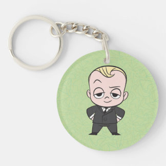 The Boss Baby | I am no Ordinary Baby Double-Sided Round Acrylic Key Ring