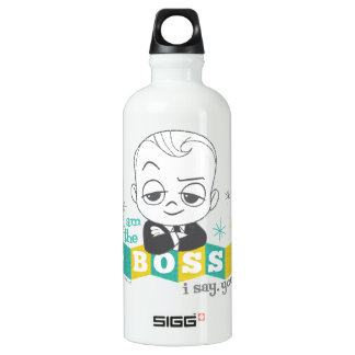 The Boss Baby   I am the Boss. I Say. You Do. Water Bottle