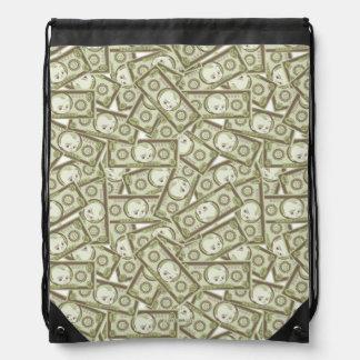 The Boss Baby | Money Pattern Drawstring Bag