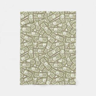 The Boss Baby   Money Pattern Fleece Blanket