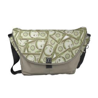 The Boss Baby | Money Pattern Messenger Bag