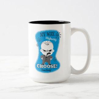 The Boss Baby   My Way. Highway. Two-Tone Coffee Mug