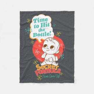 The Boss Baby   Secret Formula, Never Grow Up! Fleece Blanket
