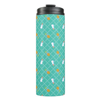 The Boss Baby | Teal Bottle & Rattle Pattern