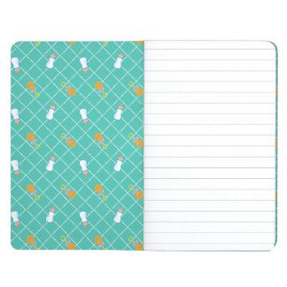 The Boss Baby | Teal Bottle & Rattle Pattern Journals