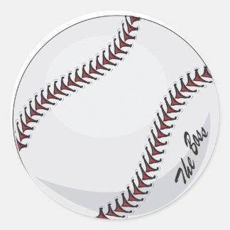The Boss Baseball theme Sticker