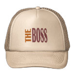 THE BOSS BROWNY CAP