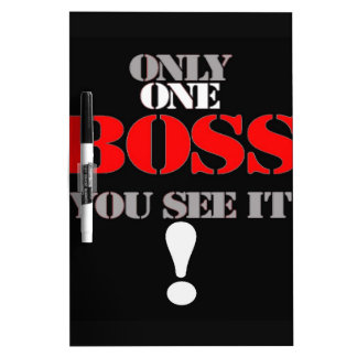 THE BOSS DRY ERASE BOARDS