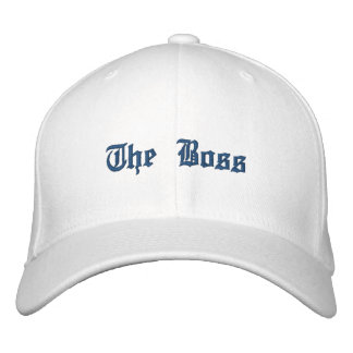 """""""The Boss"""" Embroidered Hat"""