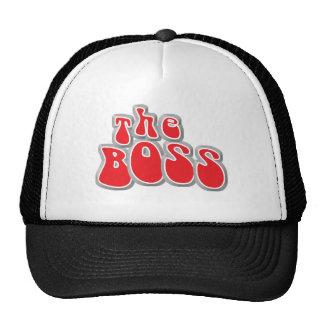 The Boss Funny Baby Hat/Cap Cap