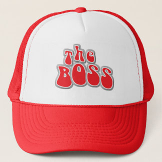 The Boss Funny Baby Hat/Cap Trucker Hat
