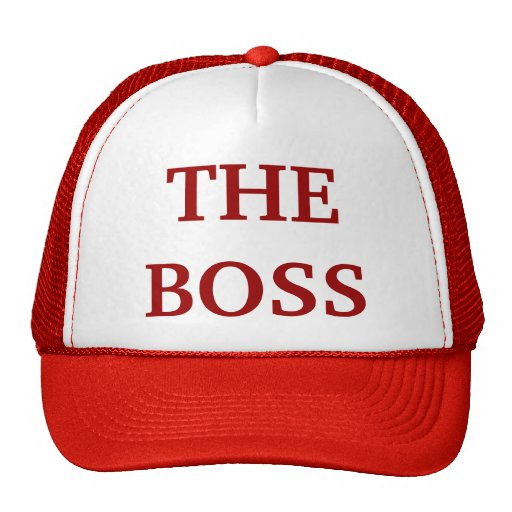 """The Boss"" Hat"