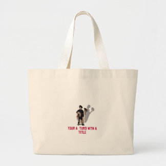 THE BOSS IS ! CANVAS BAG