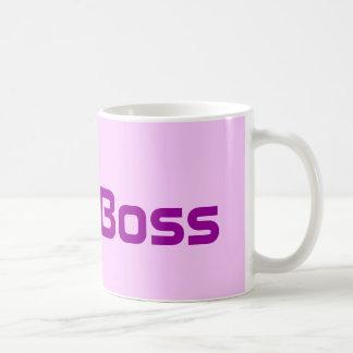 The Boss Lady's  Pink Coffee Mug