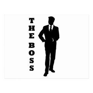 """The Boss"" Postcard"