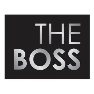 The Boss Postcard