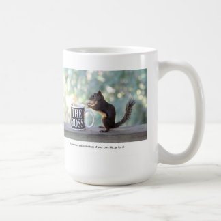 """The Boss"" Squirrel Mugs"