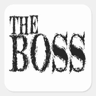 The Boss Sticker