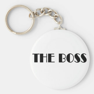 The Boss T-shirts and Gifts Keychain