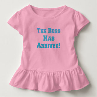 The Boss Toddler T-Shirt