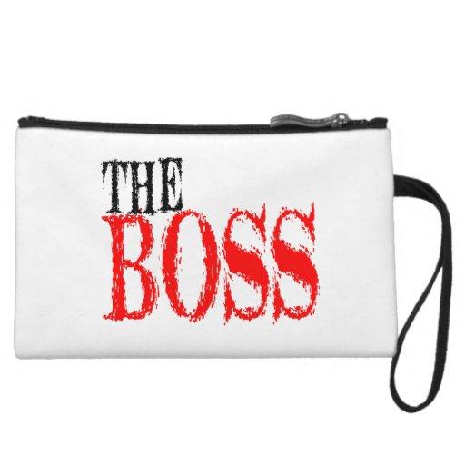The Boss Wristlet
