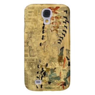 The Boston Massacre by Paul Revere Galaxy S4 Case